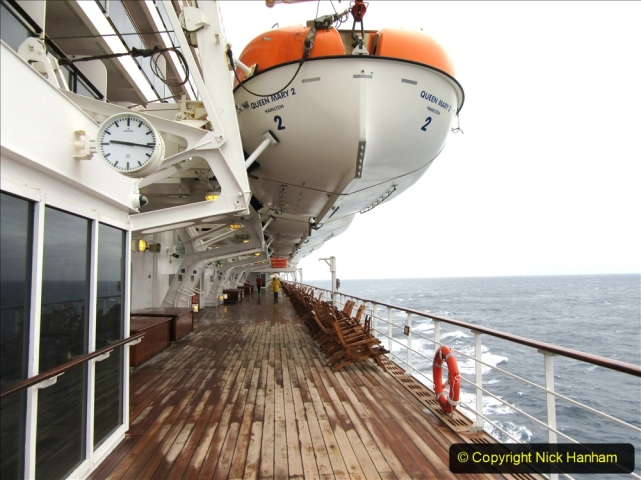 2019-11-03 to 17 Cunard's Queen Mary Southampton to New York. (253) At sea. 253