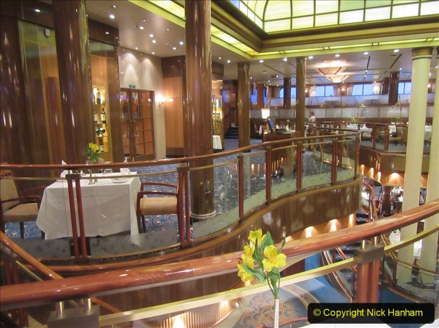 2019-11-03 to 17 Cunard's Queen Mary Southampton to New York. (44) Our ship. 044