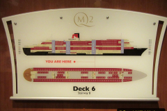 2019-11-03 to 17 Cunard's Queen Mary Southampton to New York. (17) Our ship. 017