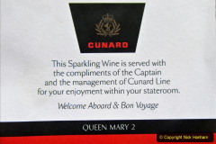 2019-11-03 to 17 Cunard's Queen Mary Southampton to New York. (26) Our ship. 026