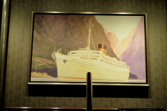 2019-11-03 to 17 Cunard's Queen Mary Southampton to New York. (52) Our ship. 052