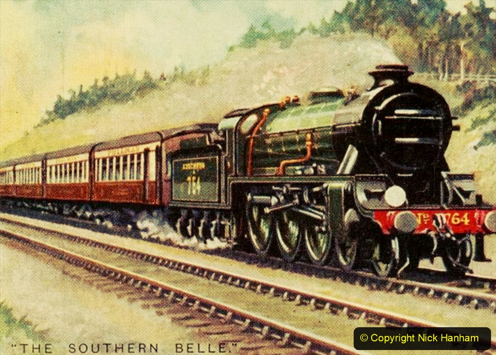 Railway Food. (112) The Southern Belle. 112