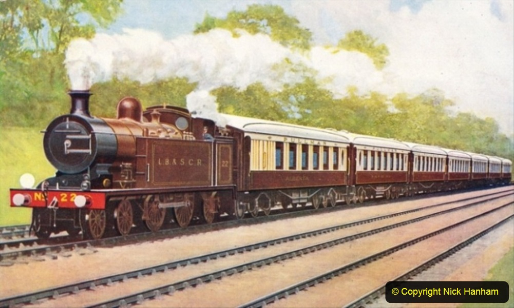 Railway Food. (117) The Southern Belle. 117