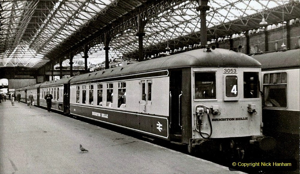 Railway Food. (127) The Brighton Belle. 127