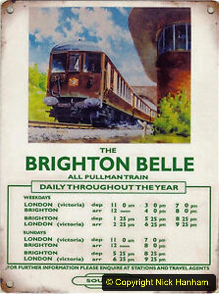 Railway Food. (132) The Brighton Belle. 132