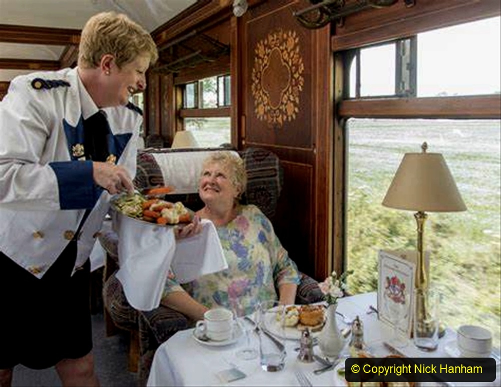 Railway Food. (152)  Pullmans. 152