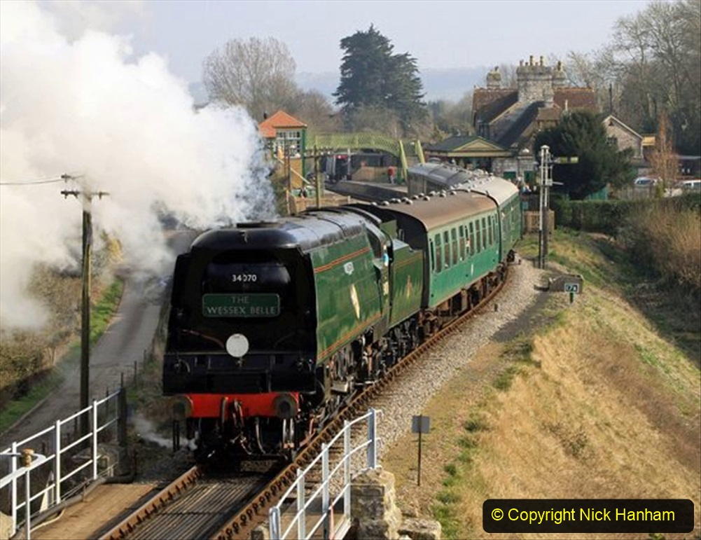 Railway Food. (187) The Wessex Belle Swanage Railway. 187