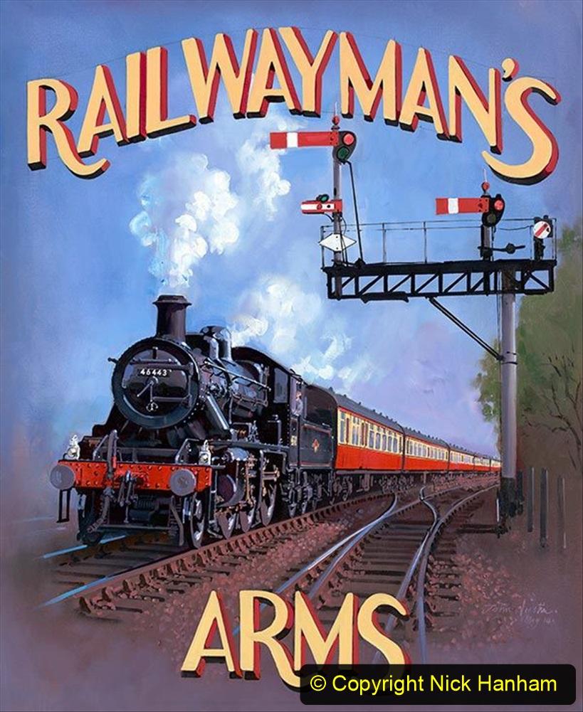 Railway Food. (192) Pub Signs. 192