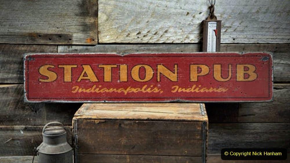 Railway Food. (209) Pub Signs. 209