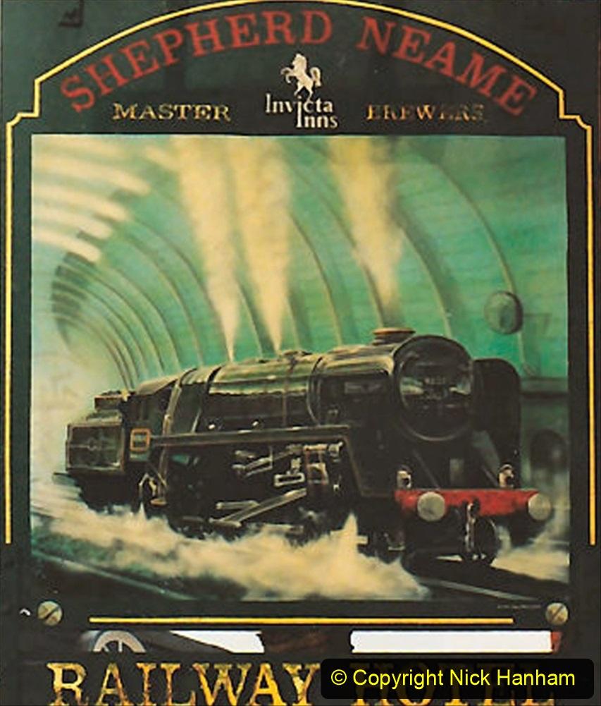 Railway Food. (216) Pub Signs. 216
