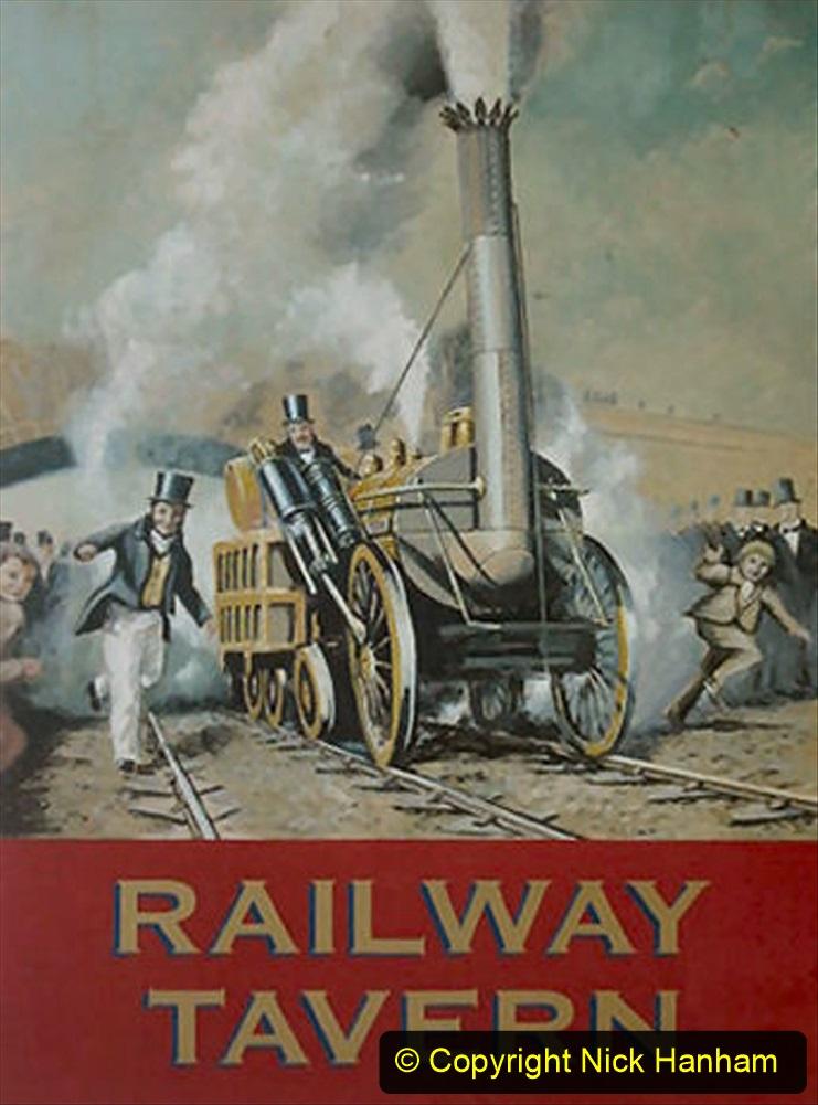 Railway Food. (218) Pub Signs. 218