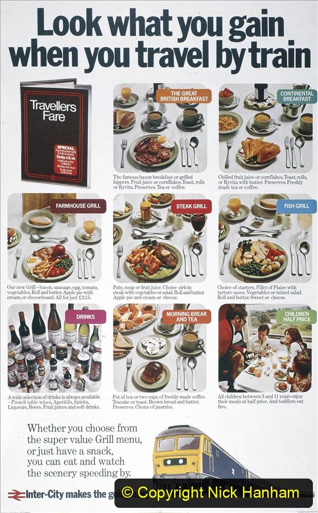 Railway Food. (235)  Posters. 235