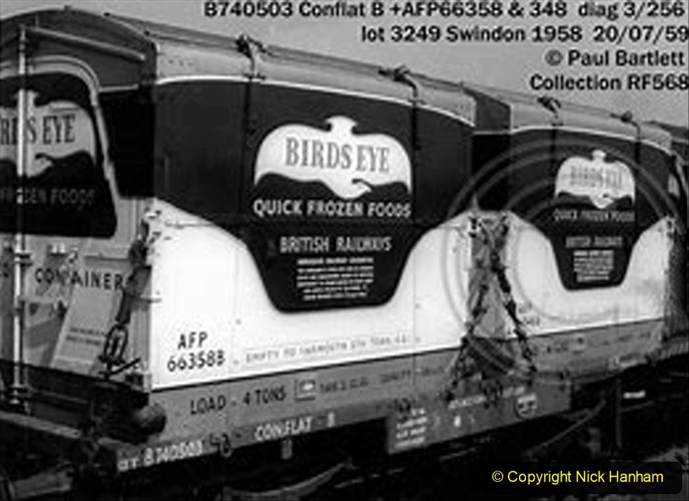Railway Food. (245) Wagons. 245