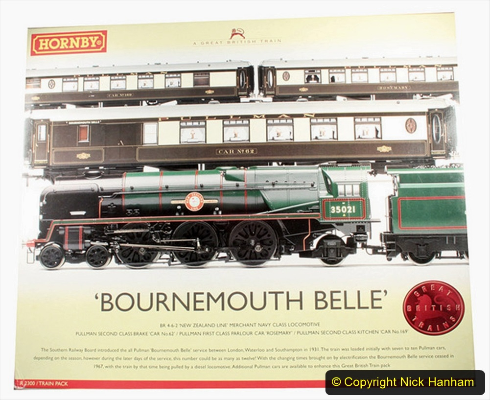 Railway Food. (97) The Bournemouth Belle. 097