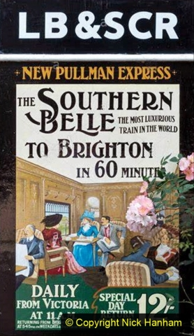 Railway Food. (114) The Southern Belle. 114