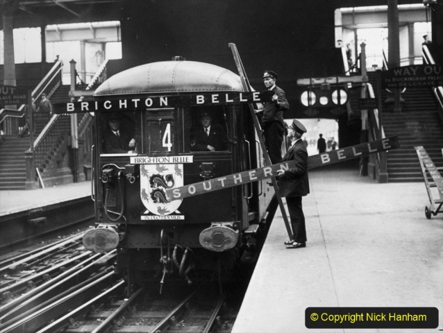 Railway Food. (135) The Brighton Belle. 135