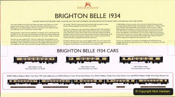 Railway Food. (139) The Brighton Belle. 139