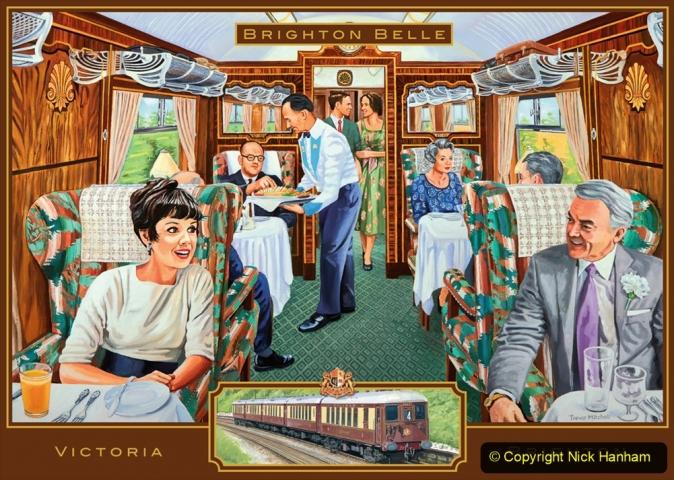 Railway Food. (141) The Brighton Belle. 141