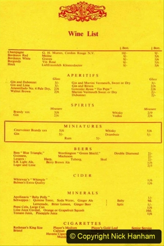 Railway Food. (171)  Pullmans. 171