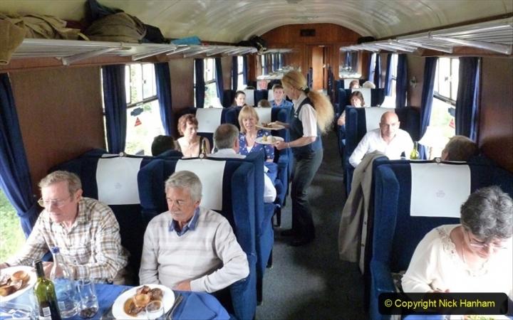 Railway Food. (185) The Wessex Belle Swanage Railway. 185