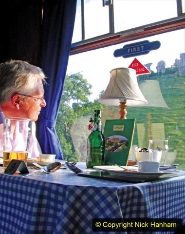 Railway Food. (188) The Wessex Belle Swanage Railway. 188