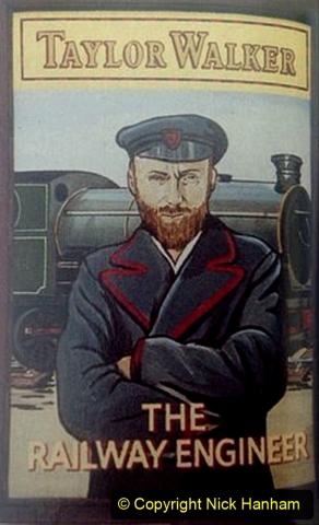 Railway Food. (205) Pub Signs. 205
