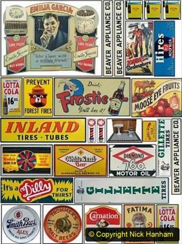 Railway Food. (233)  Posters. 233