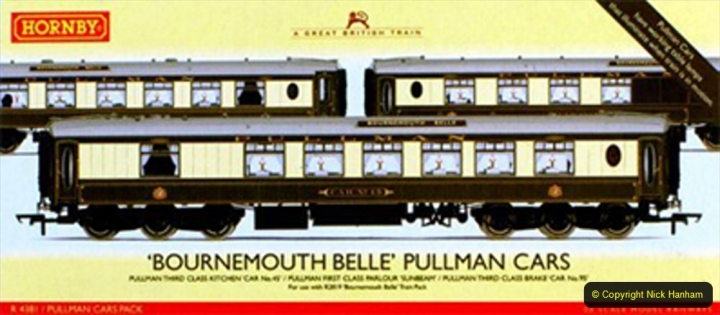 Railway Food. (98) The Bournemouth Belle. 098