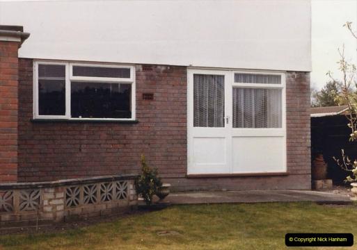 Retrospective 1985 - Your Host builds a house extension.