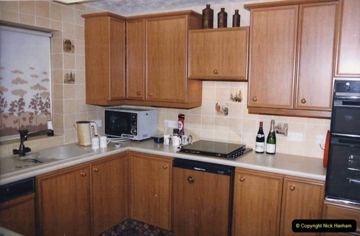 Retrospective  Summer 1985 Your Host builds a house extension. (69) New Dining room and kitchen completed. 69