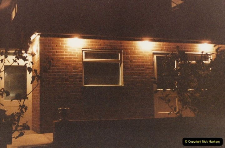 Retrospective  Summer 1985 Your Host builds a house extension. (76) Job done.76