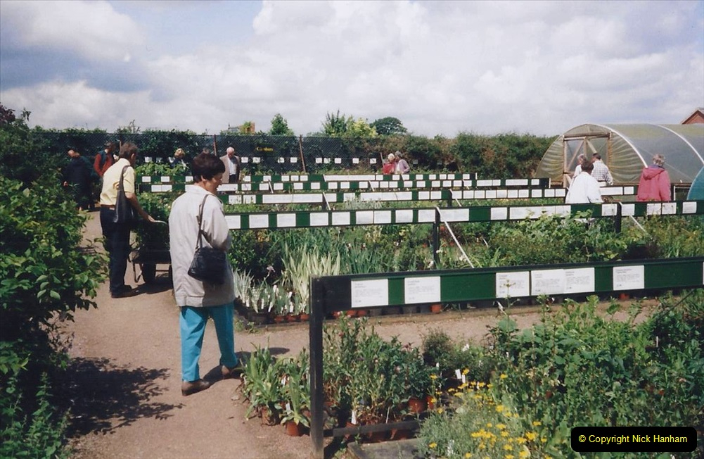 1999 June, Stamford - Burghley - Barnsdale. (125) Barnsdale's Plant Nursery.125