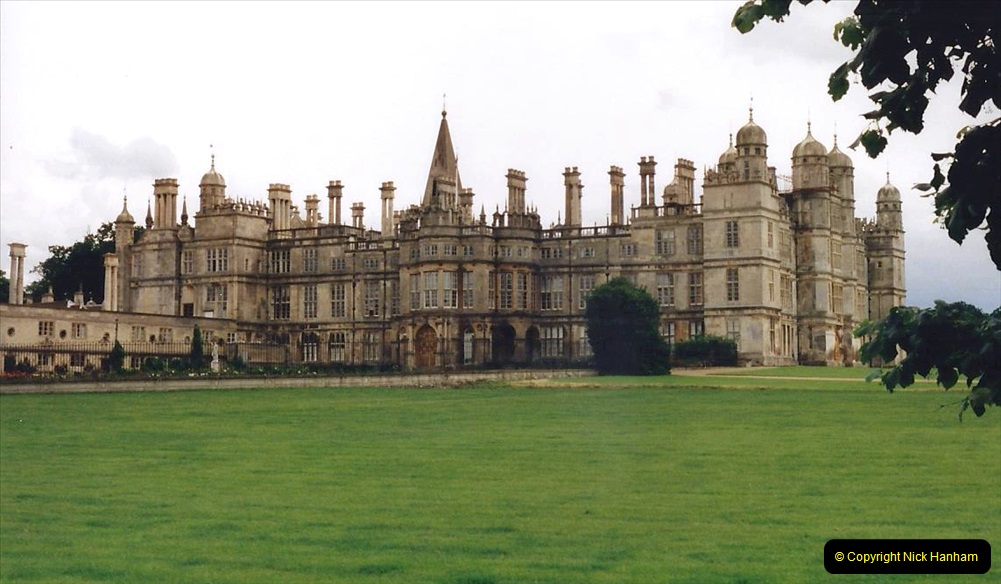 1999 June, Stamford - Burghley - Barnsdale. (20) Burghley House. 020
