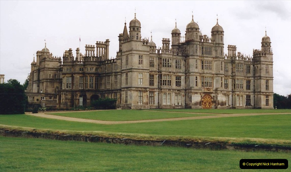 1999 June, Stamford - Burghley - Barnsdale. (21) Burghley House. 021