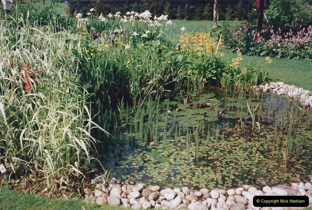 1999 June, Stamford - Burghley - Barnsdale. (77) Flowerbeds and Ponds. 077