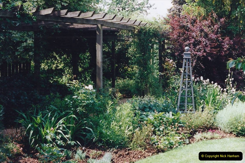 1999 June, Stamford - Burghley - Barnsdale. (85) Number 21 Rose Garden. 085