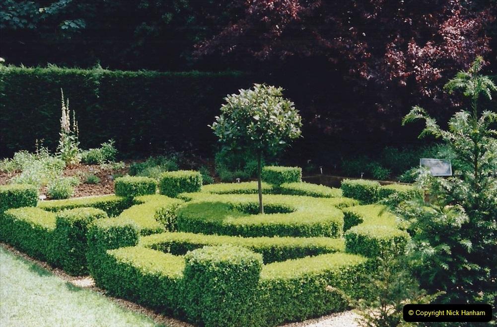 1999 June, Stamford - Burghley - Barnsdale. (94) Number 27 Entrance to Penstemon Bed. 094