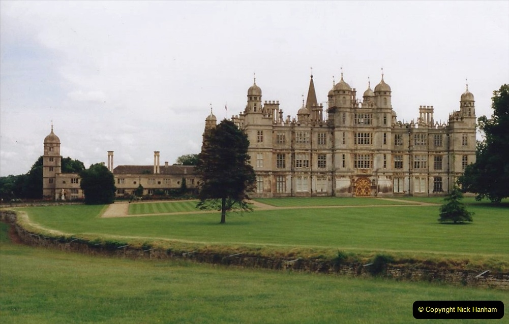 1999 June, Stamford - Burghley - Barnsdale. (22) Burghley House. 022