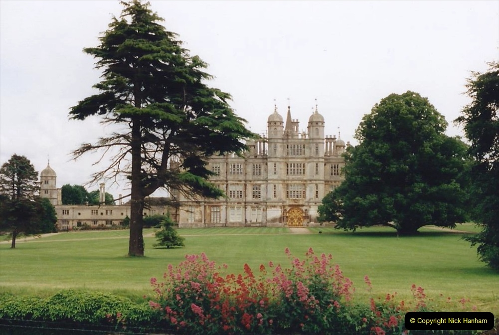 1999 June, Stamford - Burghley - Barnsdale. (23) Burghley House. 023