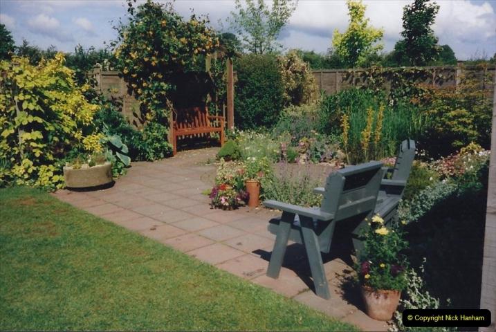 1999 June, Stamford - Burghley - Barnsdale. (54) Number 10 Garden. 054