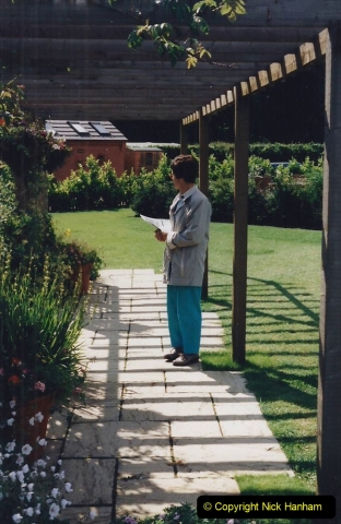 1999 June, Stamford - Burghley - Barnsdale. (60) Number 7 Garden by Adam Frost. 060