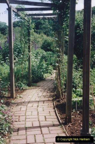 1999 June, Stamford - Burghley - Barnsdale. (81) Ornamental Kitchen Garden.081