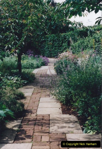 1999 June, Stamford - Burghley - Barnsdale. (86) Number 21 Rose Garden. 086