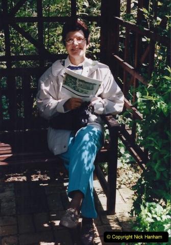 1999 June, Stamford - Burghley - Barnsdale. (87) Number 21 Rose Garden. 087