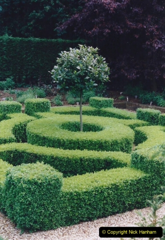 1999 June, Stamford - Burghley - Barnsdale. (95) Number 27 Entrance to Penstemon Bed. 095