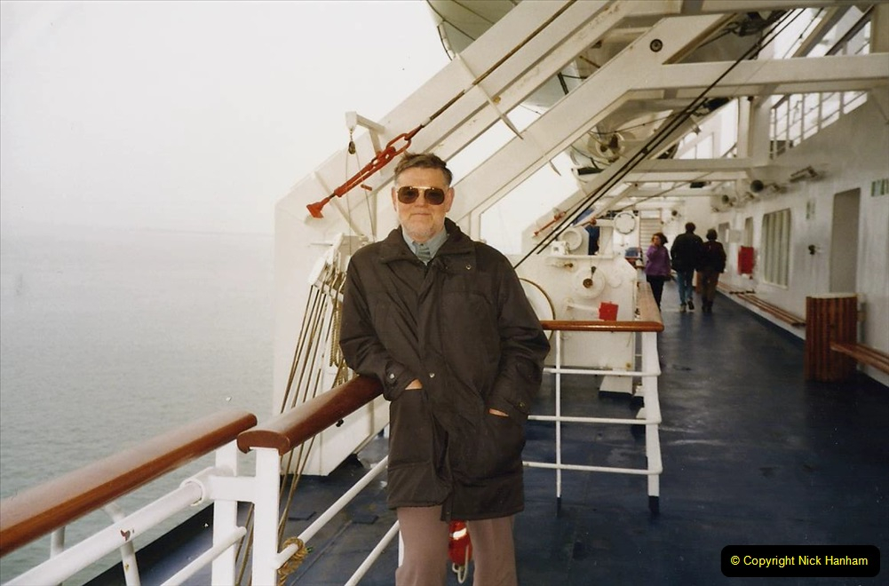 1991 Morlaix Area. (2) Portsmouth to Roscoff, France. 02