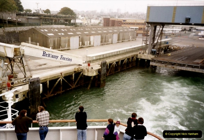 1991 Morlaix Area. (1) Portsmouth to Roscoff, France. 01