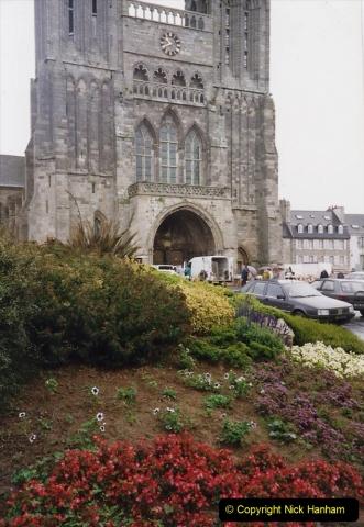 1991 Morlaix Area. (10) St. pol De Leon. 10
