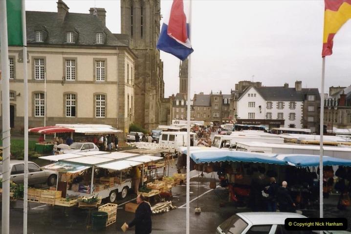1991 Morlaix Area. (7) St. pol De Leon. 07
