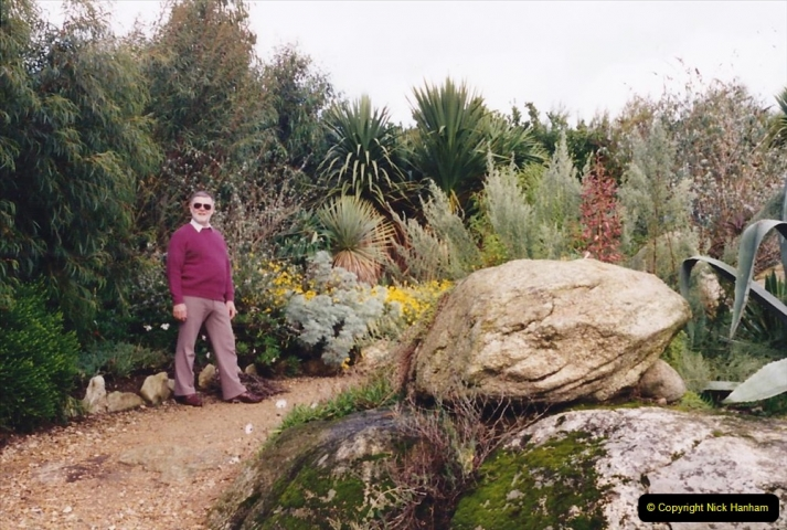1994 France - October. (32) This garden near roscoff appeared on UK television. 32